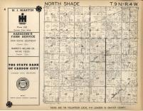 North Shade T9N-R4W, Gratiot County 1955